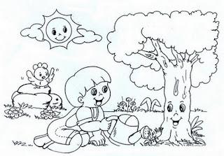 Dia Da Arvore 60 Atividades E Desenhos Para Colorir Portal Escola