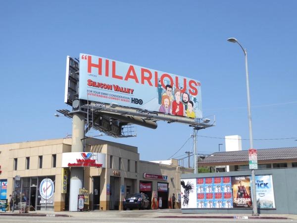 Silicon Valley season 4 Emmy nominee billboard