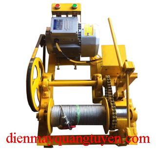 Máy tời điện cơ khí Việt Nam