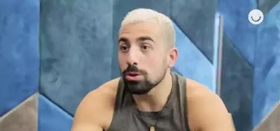 Kaysar Dadour em entrevista para o Gshow; ator foi surpreendido com previsão de seu mapa astral