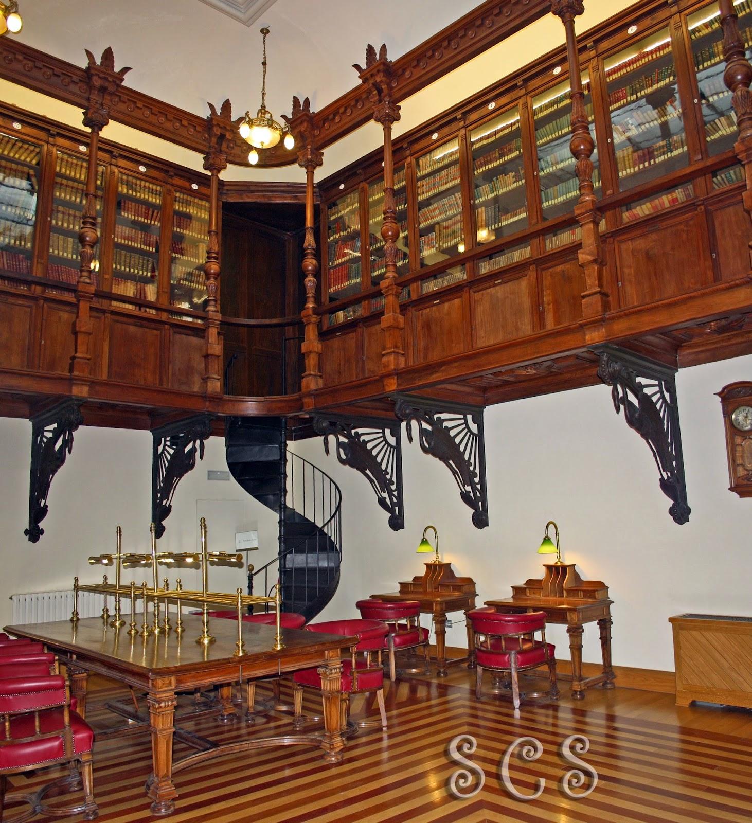 Biblioteca inglesa del Real Casino de Murcia