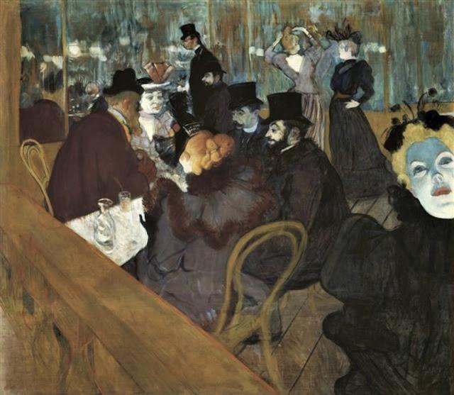 Au Moulin-Rouge, 1892 / Henri de Toulouse-Lautrec