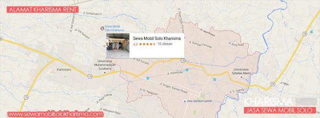 peta alamat rental mobil