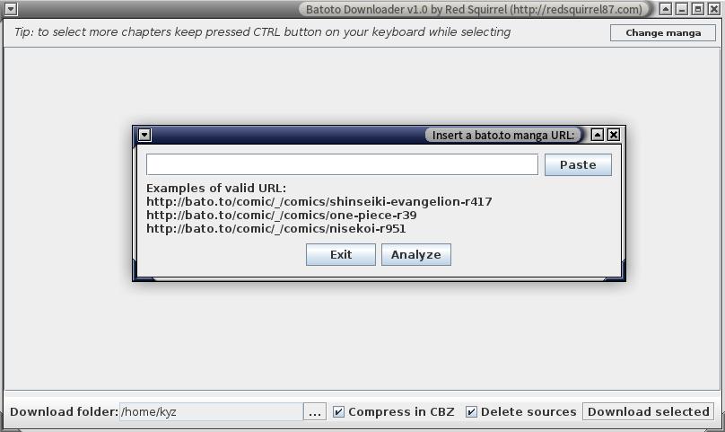 Programming Rants: Manga Downloader on Linux