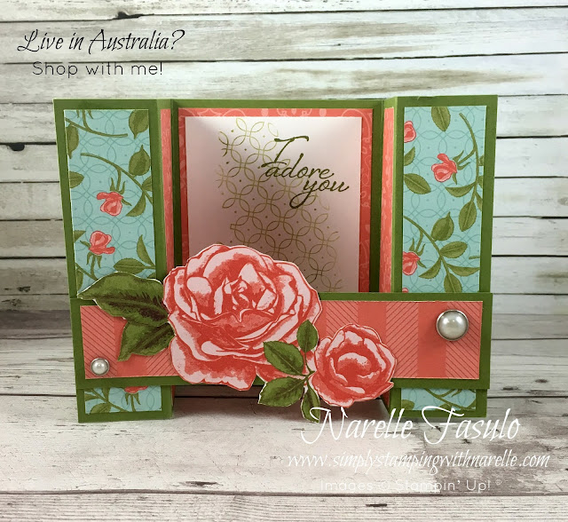 Learn how to make gorgeous cards like this with my Stamping By Mail classes - http://www.simplystampingwithnarelle.com/p/stamping-by-mail.html - Simply Stamping with Narelle