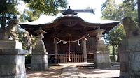 川崎市麻生区 岡上神社 社殿