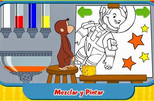 Jugando y aprendiendo juntos: Jorge el Curioso: Juego de Mezclar y ...