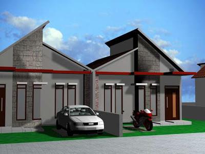 desain rumah minimalis modern dan sederhana - asiknya