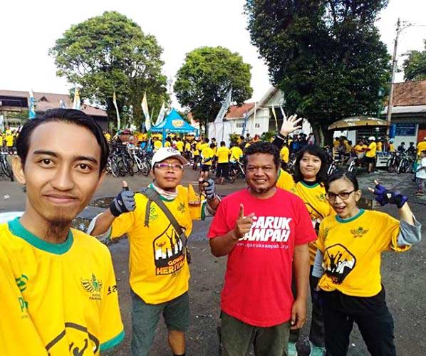 Gowes Heritage Mangayubagyo Hadeging Kadipaten Pakualaman Yogyakarta Ke-212
