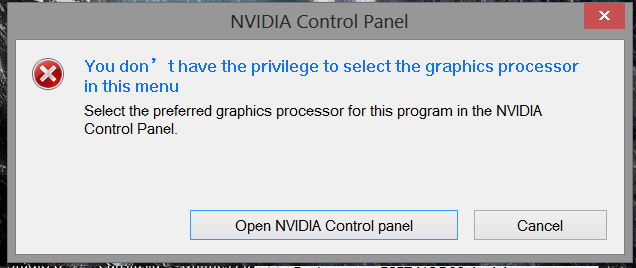 Help Please x x I have a big Problem with a game to my Nvidia