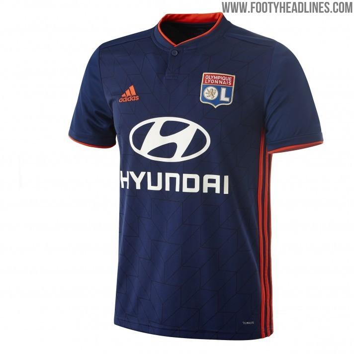 Olympique Lyon 18-19 Home   Away Kit Released - Footy Headlines 55291138b
