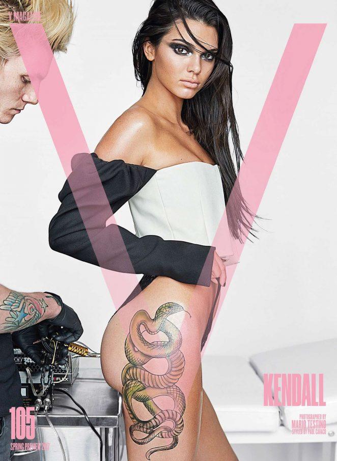 Kendall Jenner – Inked For V Magazine