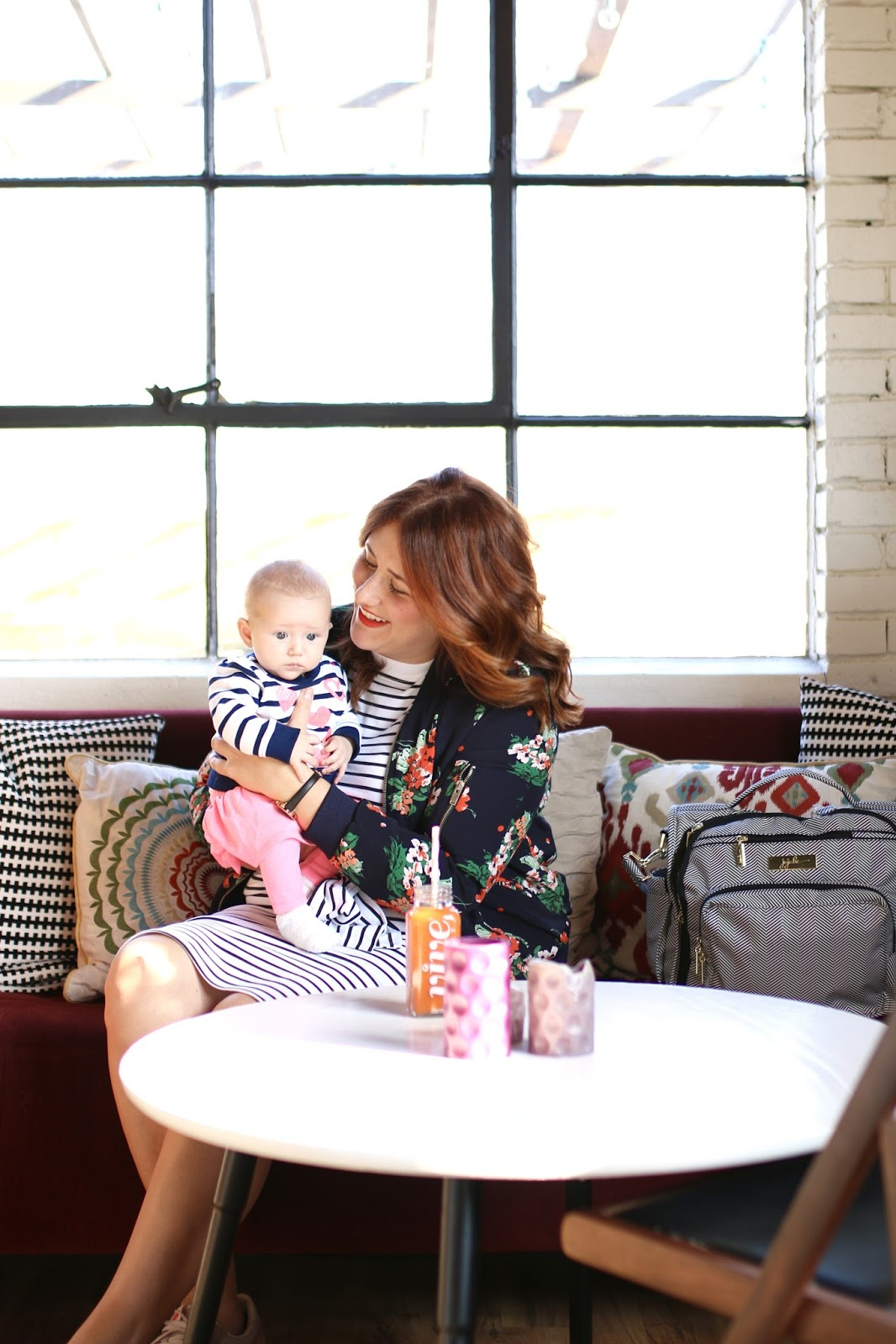 vive Juciery, salt lake city, jujube legacy, asos striped dress, mom style