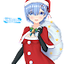 Tags: Render, Blue Hair, Christmas, Dress, Re Zero Kara Hajimeru Isekai Seikatsu, Rem, Short hair, Small breasts, Stockings, Thigh Highs