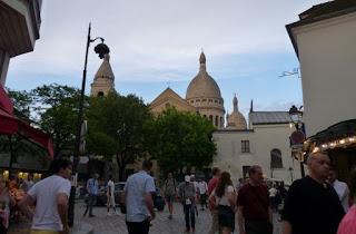 París, barrio de Montmartre. Place du Tertre o Plaza de los Pintores.