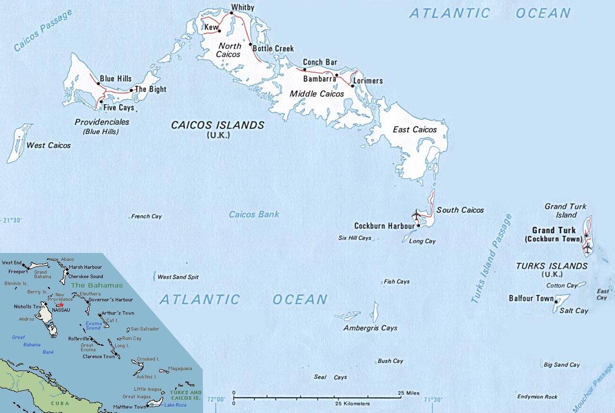 Ilhas Turks e Caicos | Território do Reino Unido