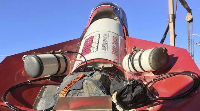 Uzaya gönderilecek olan buharlı roket
