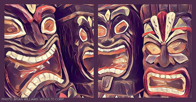 The Tiki Gods Of Casual Friday