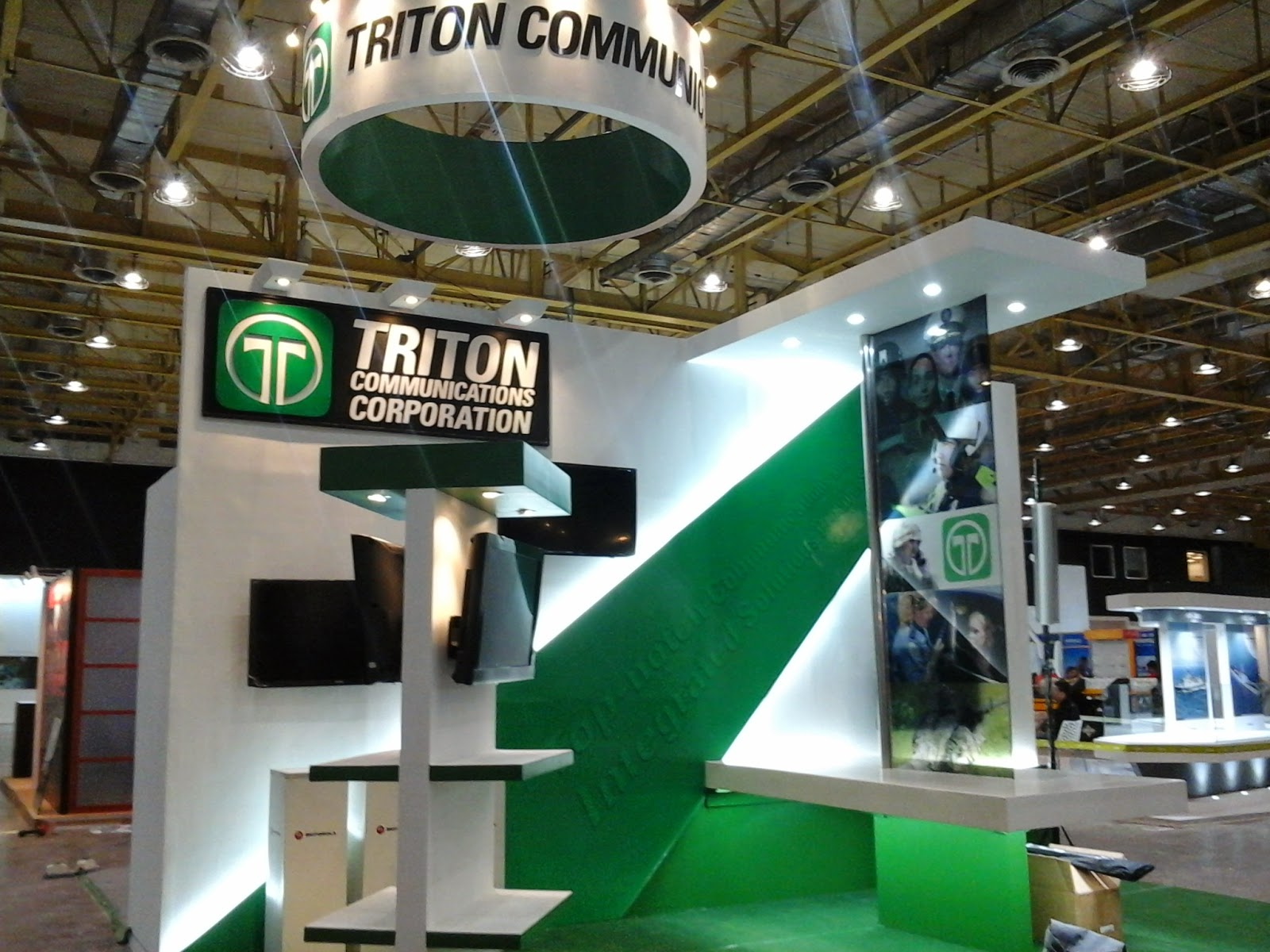 Triton Communications Corporation Trade Show Booth