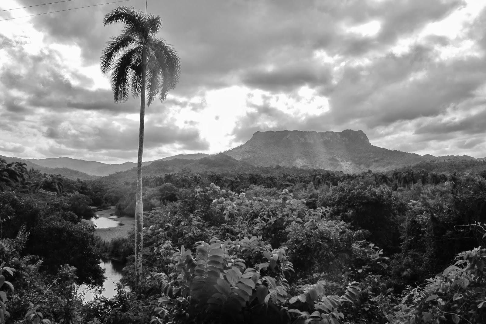 El Yunque, símbolo de Baracoa, a cidade mais oriental de Cuba.