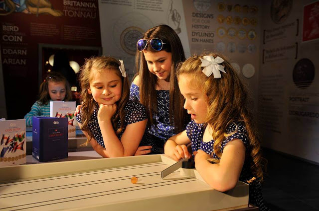 Royal Mint, The Royal Mint Experience, Llantrisant, days out, coin games,