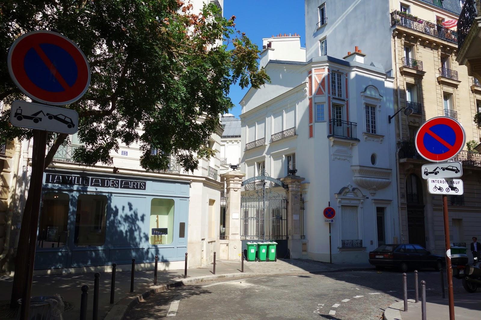 Paris Villa Des Arts Une Cit D 39 Artistes Du Xix Me