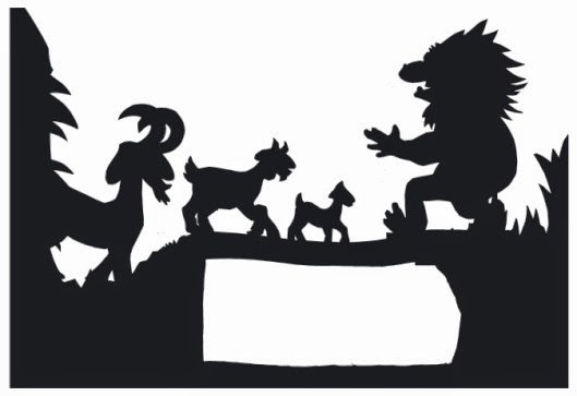 Printable shadow puppets munchkins and mayhem for Free shadow puppet templates