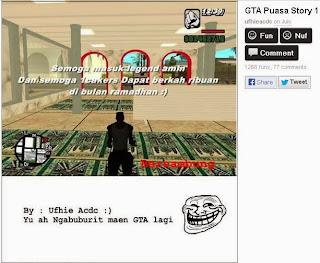 GTA Sholat - Game Begog