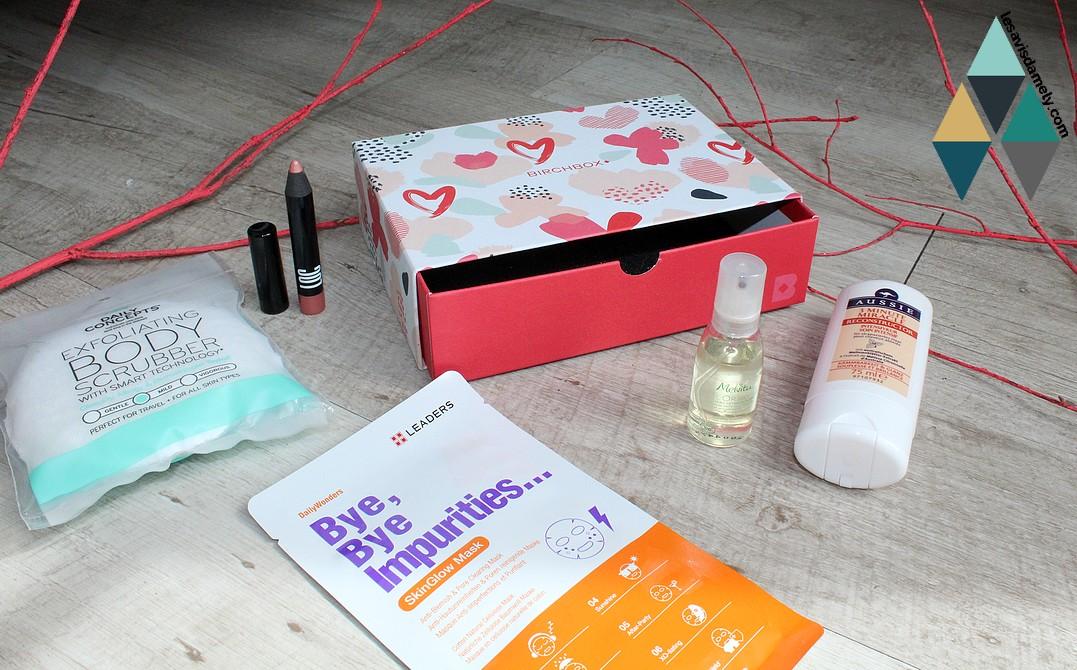 avis et test de produits box beauté