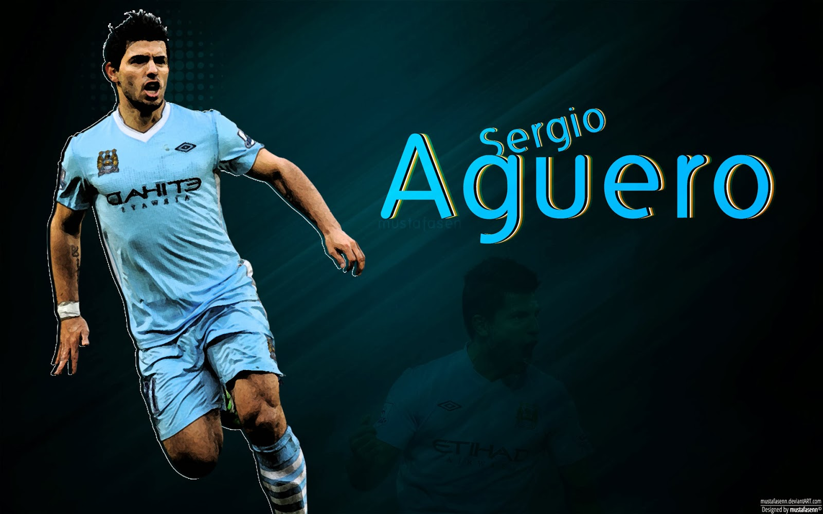 Sergio Aguero HD Wallpaper
