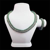 Yeşil Kristal Boncuklu Takım - Nihal'in Rüyası