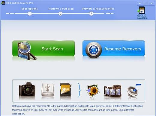 برنامج SD Card Recovery