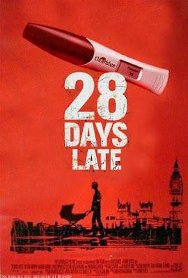 Lustiger Horrorfilm für Männer positiver Schwangerschaftstest