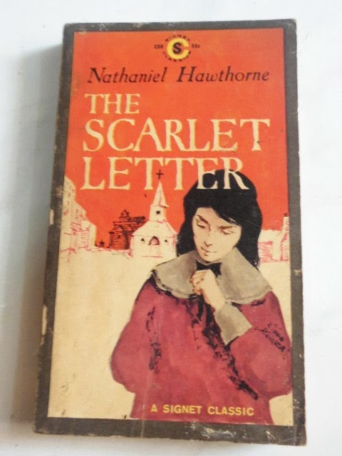 How are The Crucible and The Scarlet Letter related?