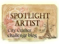 Spotlight bij City Crafters Challenge Blog