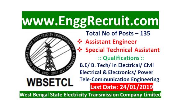 WBSETCL Recruitment