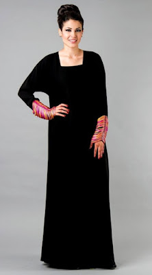 Latest designer abayas modern gowns designs