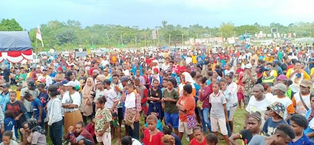 Kumpulan  Foto Kampanye Dapil 1 Partai Hanura Distrik Teminabuan Bertempat Di Lapangan Trinati Senin 01 April 2019