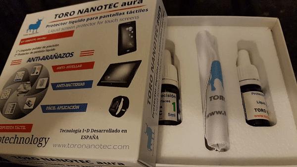 YoAndroideo.com: ¿Un protector de pantalla líquido? Probamos el Toro Nanotec aura