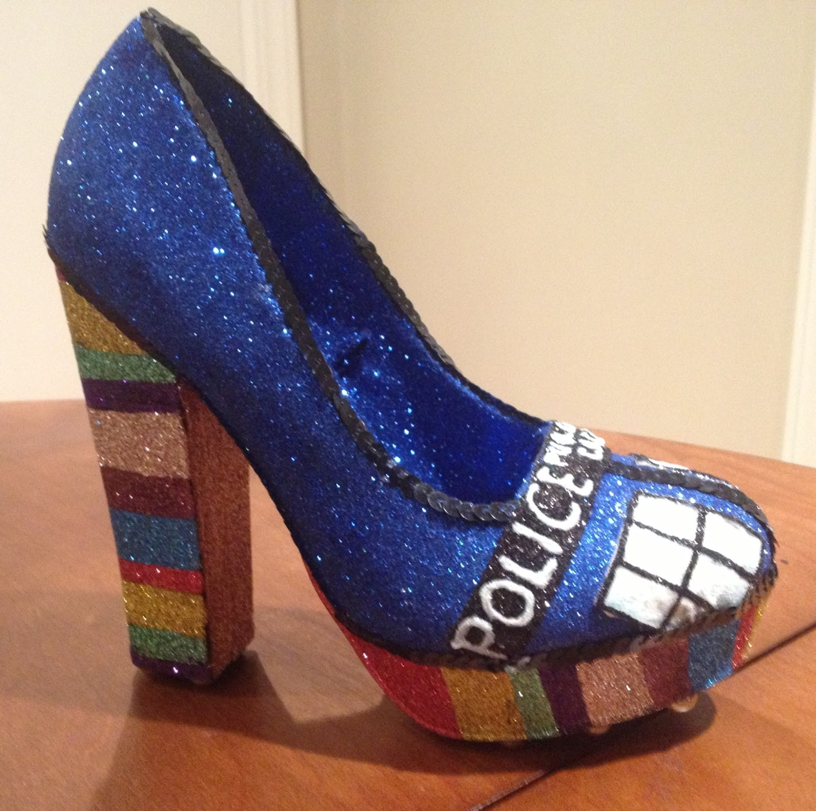 4c566a6ea62 Confessions of a glitter addict: Doctor Who Shoe