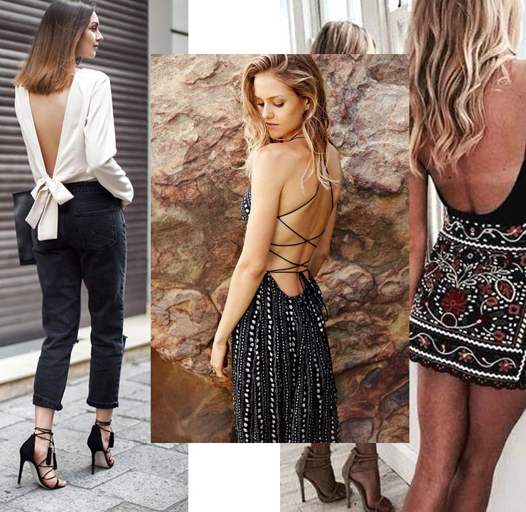 inspiration backless dress