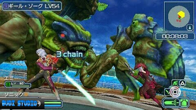 Phantasy Star Portable 2 Infinity PPSSPP Android MOD