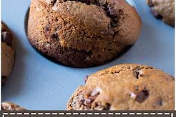 Nutella Stuffed Double Chocolates Muffins