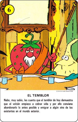 Baraja Los Fruittis Carta amarilla 6