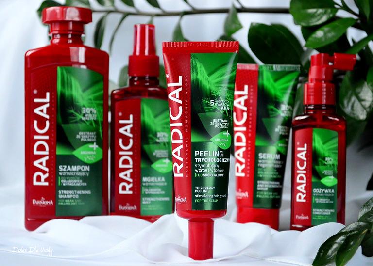 Peeling Trychologiczny Radical stymulujący porost włosów Wygraj kosmetyki Radical