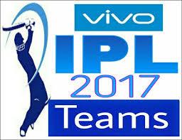 IPL 2017, Team List IPL 2017, IPL Cricket 2017