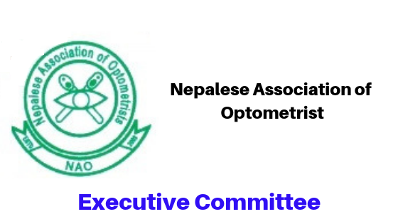 Executive Committee Nepal Association of Optometrist
