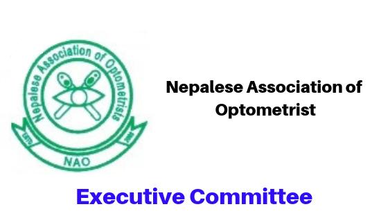 Executive Committee Nepal Association of Optometrist