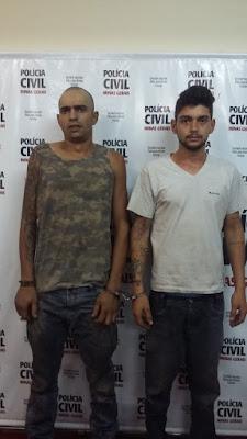 Polícia Civil prende dupla suspeita de adulterar veículos em Divinópolis