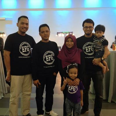 Mini Gathering Blogger dari Exchange Feed Group di Bangi Golf Resort Restaurant